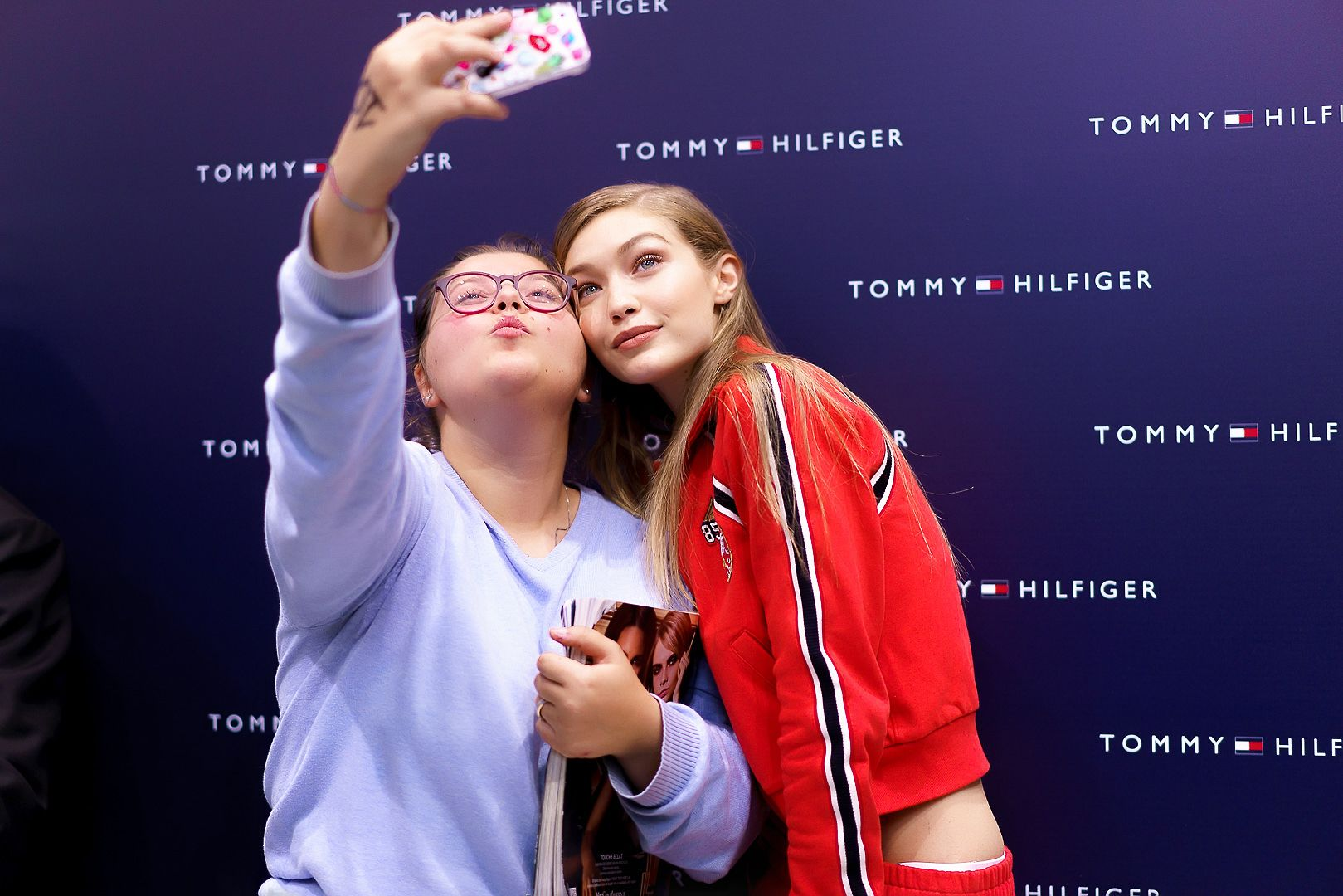MILAN- Get ready world... The TOMMYXGIGI #TOGETHERTOUR has officially begun. Gigi is circling the globe with her brand new collection to see how YOUR cities style it!