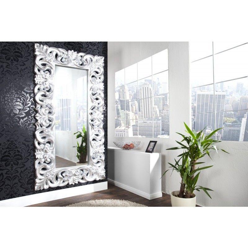 Moderne Spiegel moderne spiegel venice 180cm zilver antiek 15630 huis en tuin