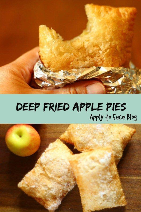 pin me deep fried apple pies
