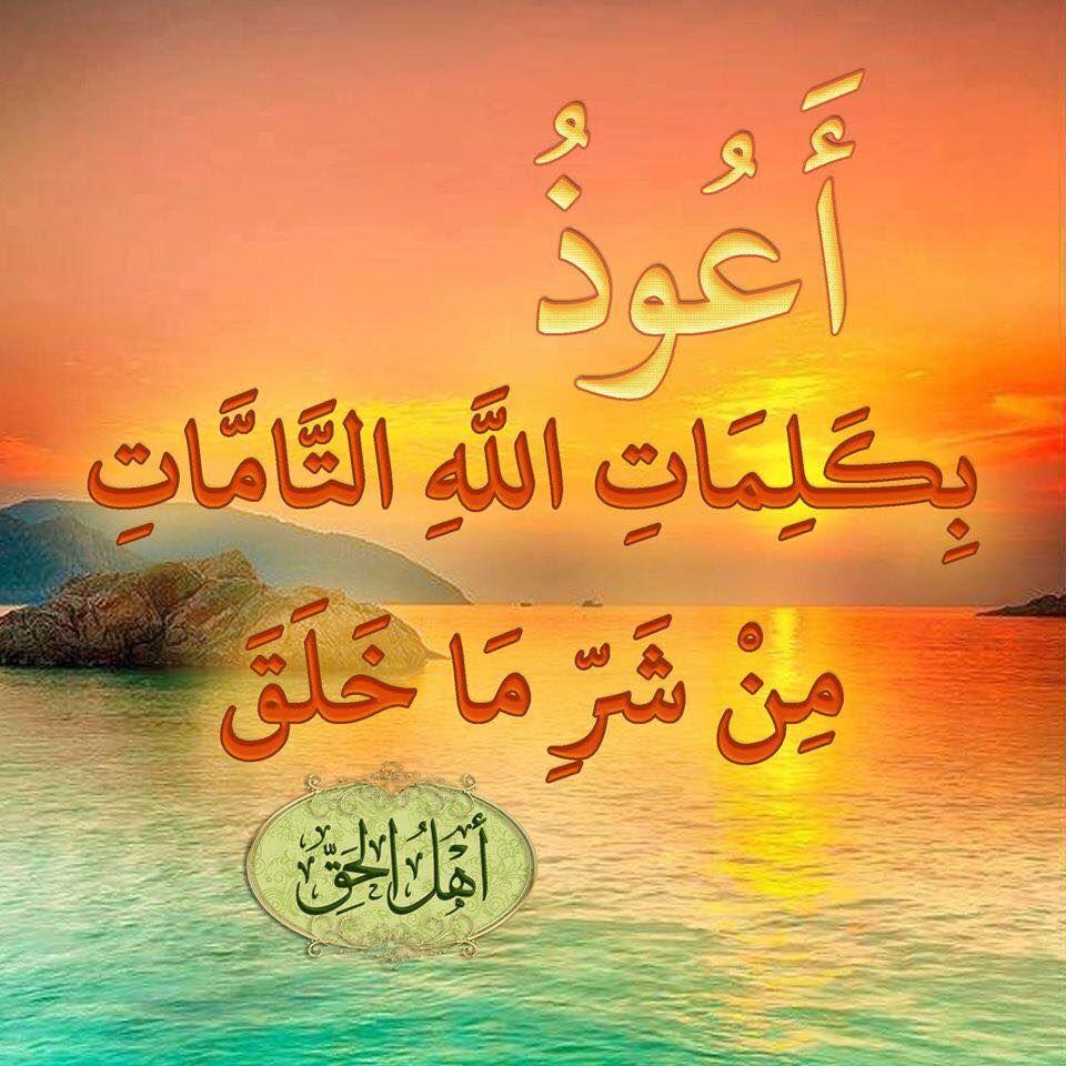 أعوذ بكلمات الله التامات من شر ما خلق Oxford Books Peace And Love Islam