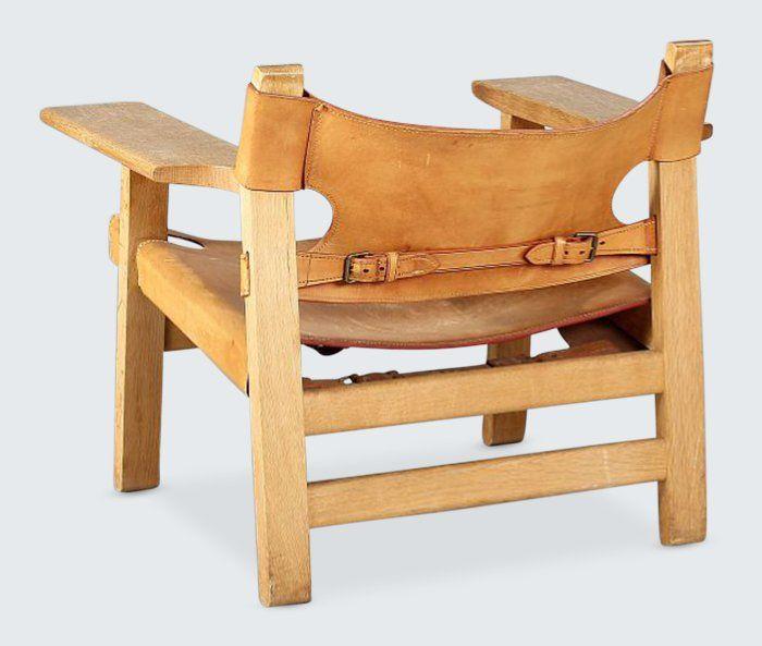 borge mogensen spanish chair unique furniture pinterest