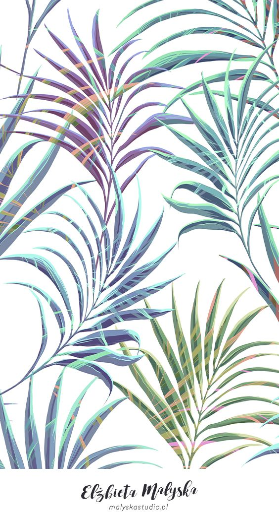 Tropical Wind | PRINT PATTERN DESIGN #tropicalpattern