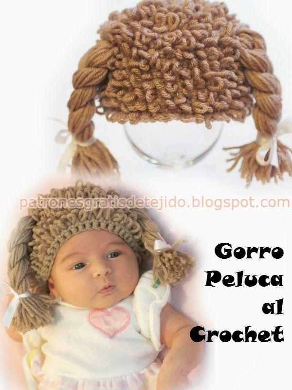 Moderno Sombrero De Vikingo Con El Patrón De Ganchillo Barba Friso ...