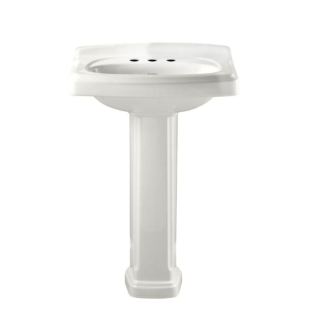 American Standard Portsmouth Vitreous China Pedestal Combo