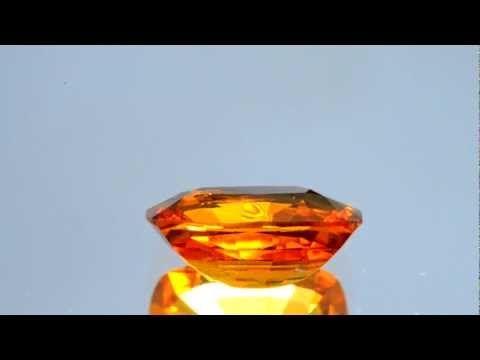 Mandarin Garnet-Spessartite - 5.49 carats at AJS Gems