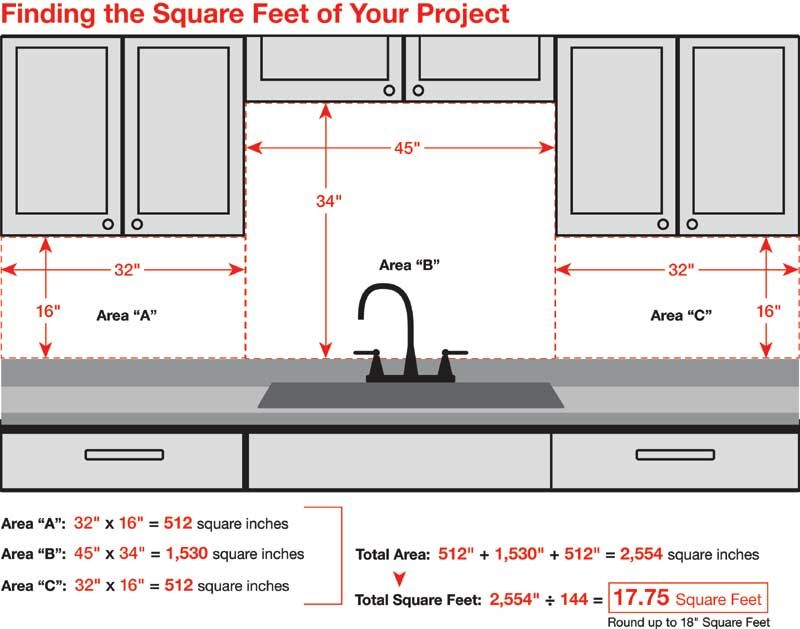 How Many Square Feet Of Backsplash Do You Need Backsplash Ideas Metallic Backsplash Diy Kitchen Kitchen Renovation
