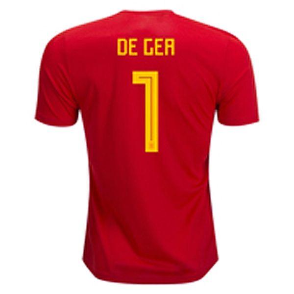 7f2f4cbfba0 spain shirt 2018 world cup for cheap david de gea soccer jersey