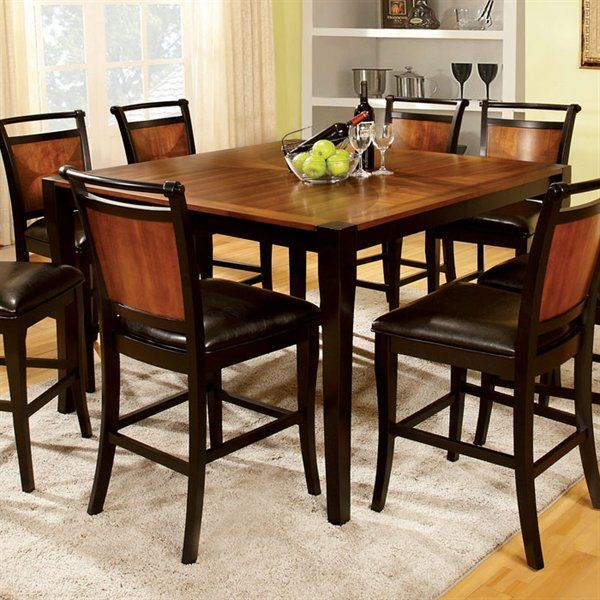 Shop Furniture of America CM3034PT Salida Counter Height Dining