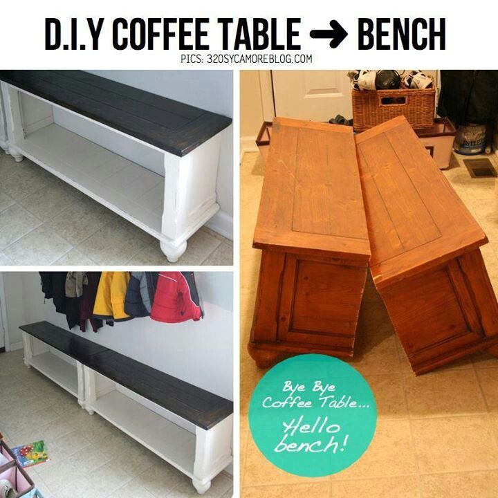 Muebles antes y después, convierte tu mesa auxiliar en un zapatero ...