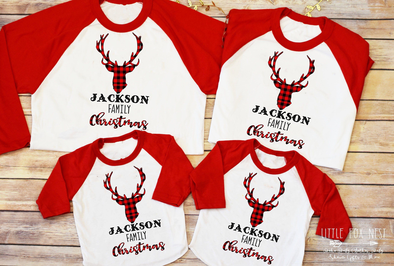 Buffalo Plaid Christmas Shirt Christmas Shirt Matching Family