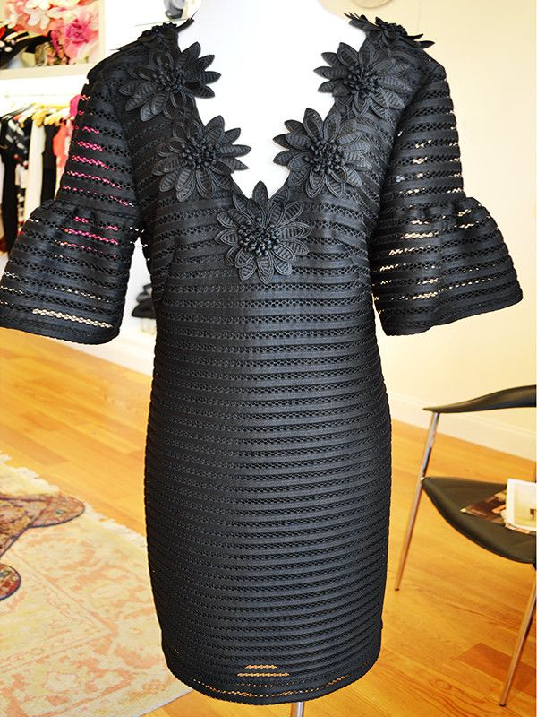 what to wear From Liv Boutique: Black Nanette Lepore dress, $444
