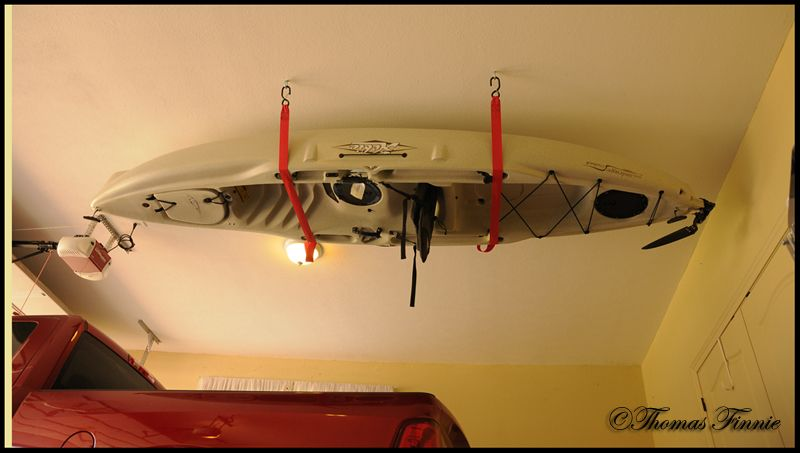 Hobie Cat Forums View Topic Overhead Kayak Storage