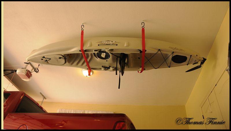 Hobie Cat Forums View Topic Overhead Kayak Storage