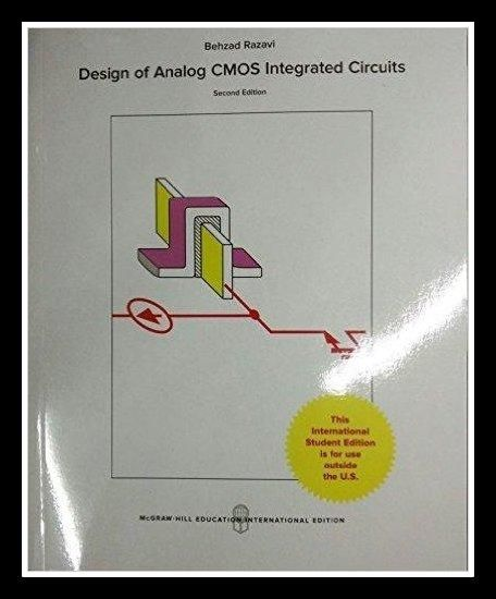 Jual Design Of Analog Cmos Integrated Circuits 2nd Edition Di Lapak Adija Saja Ajeng975 Buku