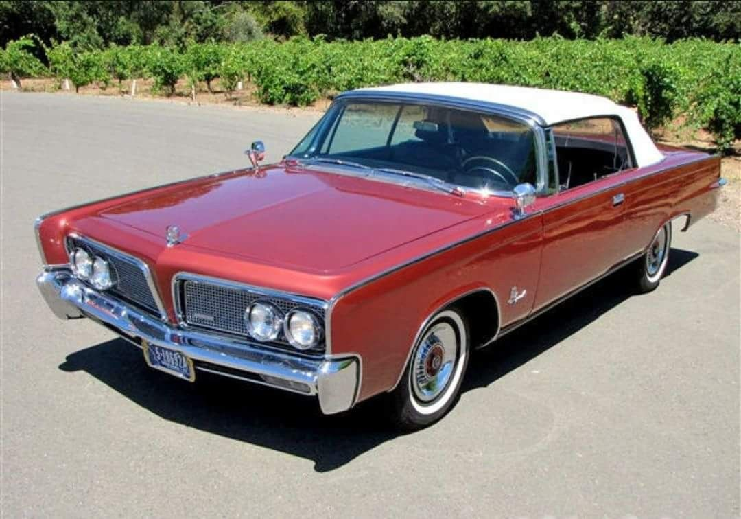 1964 Imperial Crown Convertible With Images Chrysler Cars Hot