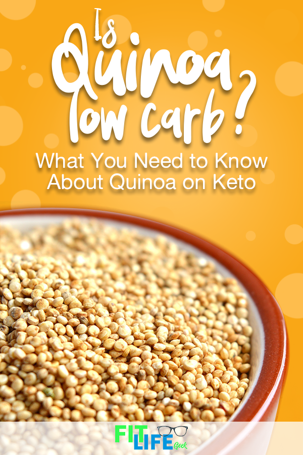 keto diet can you have quinoa