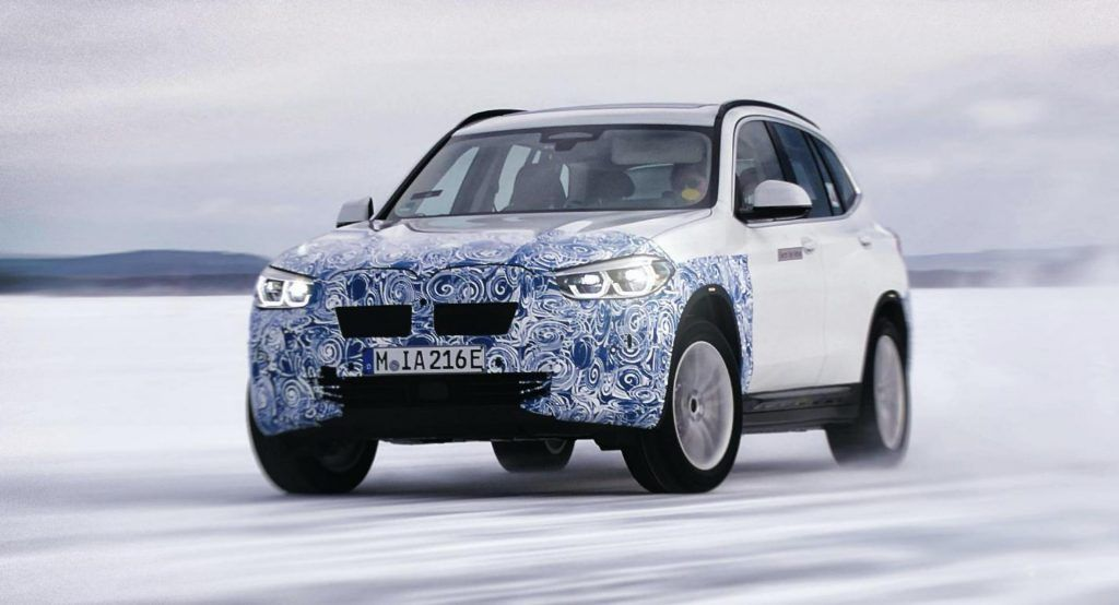 282 Hp Bmw Ix3 Will Be Rear Wheel Drive Deliver 273 Miles Of Range Bmw Electric Car Rear Wheel Drive Bmw