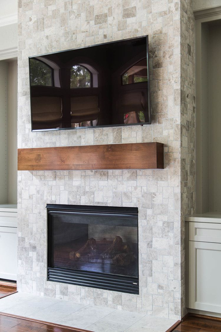 Your Fireplace Walls Finish Consider This Important Detail With