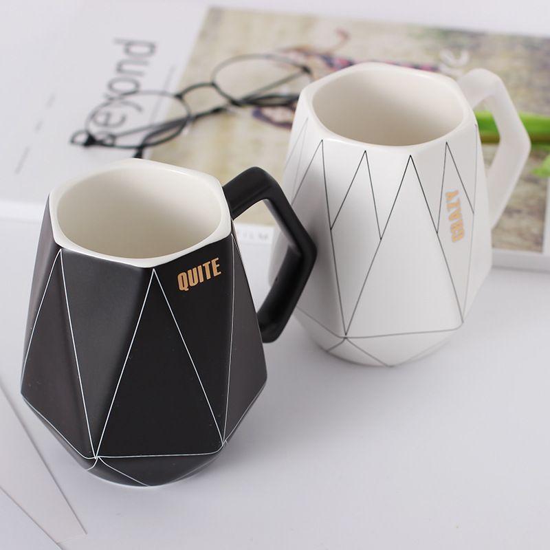 Polygonal Design Coffee Mug Coolmugs Polygonal Design Coffee Mug Mugs Coffee Mugs Unique Coffee Mugs