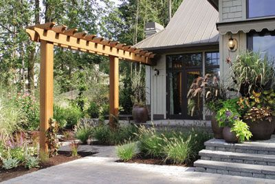 Arbor Design Ideas pretty inspiring pergola ideas I Like The Idea Of A Single Pole Pergola For A Small Space But Needing A Vertical Focus