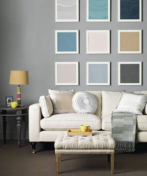 Inspirational Wall Colours for Small Rooms