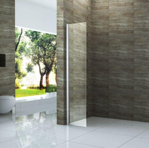 details zu vacante mini 30x200 cm duschwand glas walk in dusche duschkabine duschabtrennung - Glaswand Dusche Walk In