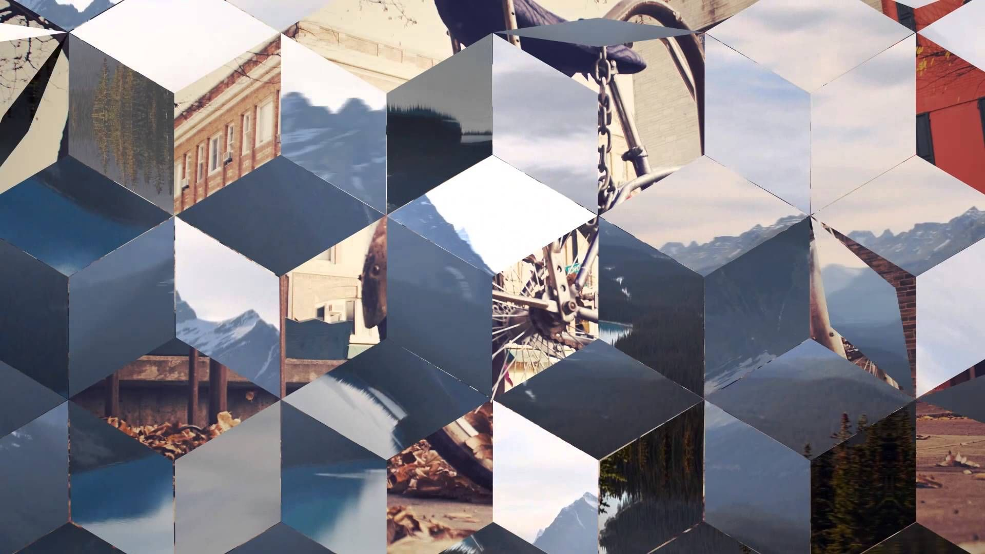 35 hexagonal glossy transitions royalty free after effects