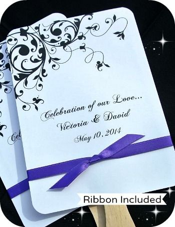 personalized wedding favor fans coupon code is saveme5 or