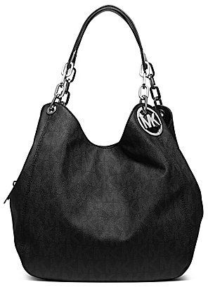 a6719e8117b79 MICHAEL Michael Kors Signature Fulton Large Shoulder Bag