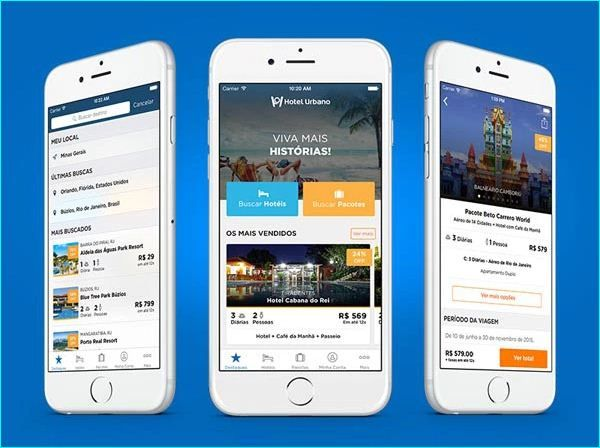 20 Example of Hotel App UI Design for Inspiration Example of Hotel