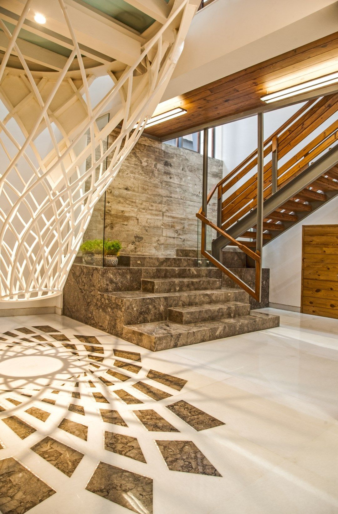 the central core house flyyingseeds design studios also best interior designs images in armoires ceiling rh pinterest