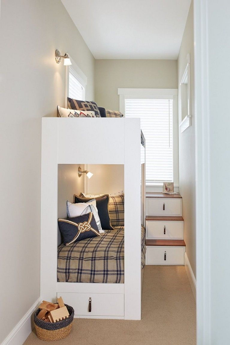 68 Inspiring Bed Storage Ideas For Small Space Bunk Bed Designs Beds For Small Spaces Bunk Beds With Stairs