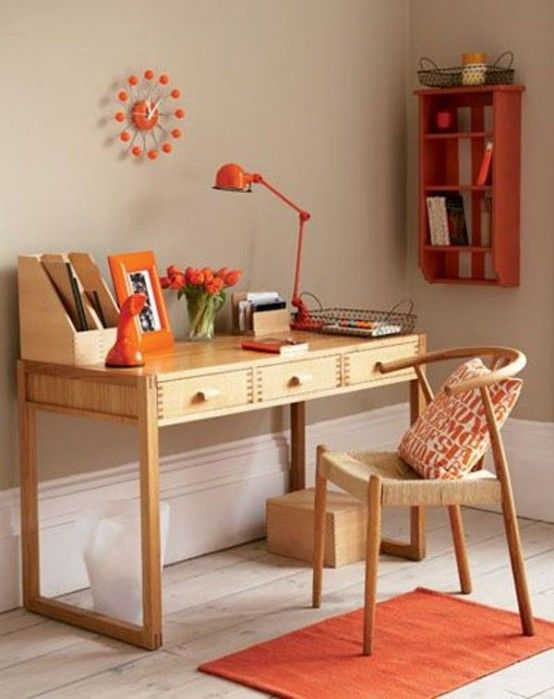 vintage home office desk. 43 Old, Retro, Vintage And Charming Home Offices Office Desk A
