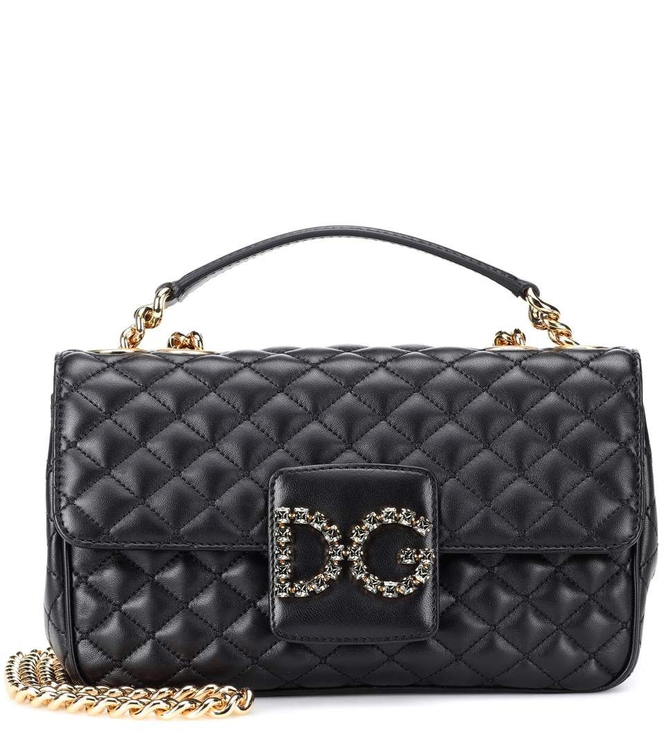 Dg Millennials Leather Shoulder Bag - Dolce   Gabbana  ae2f53c57472c
