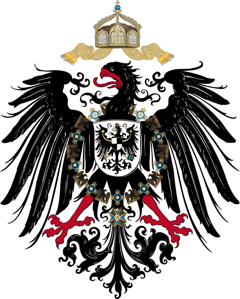 German Imperial Eagle of the German Empire from 1889-1918 ...