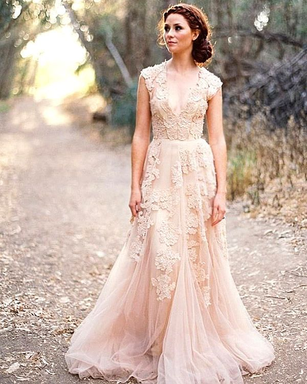24 Bridal Inspiration: Country Style Wedding Dresses   Country style ...