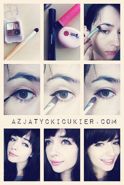 The New Cat Eye Asian Puppy Eye Makeup Beauty Puppy Eyes