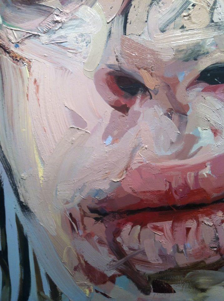 jenny seville face painting closeups jenny saville