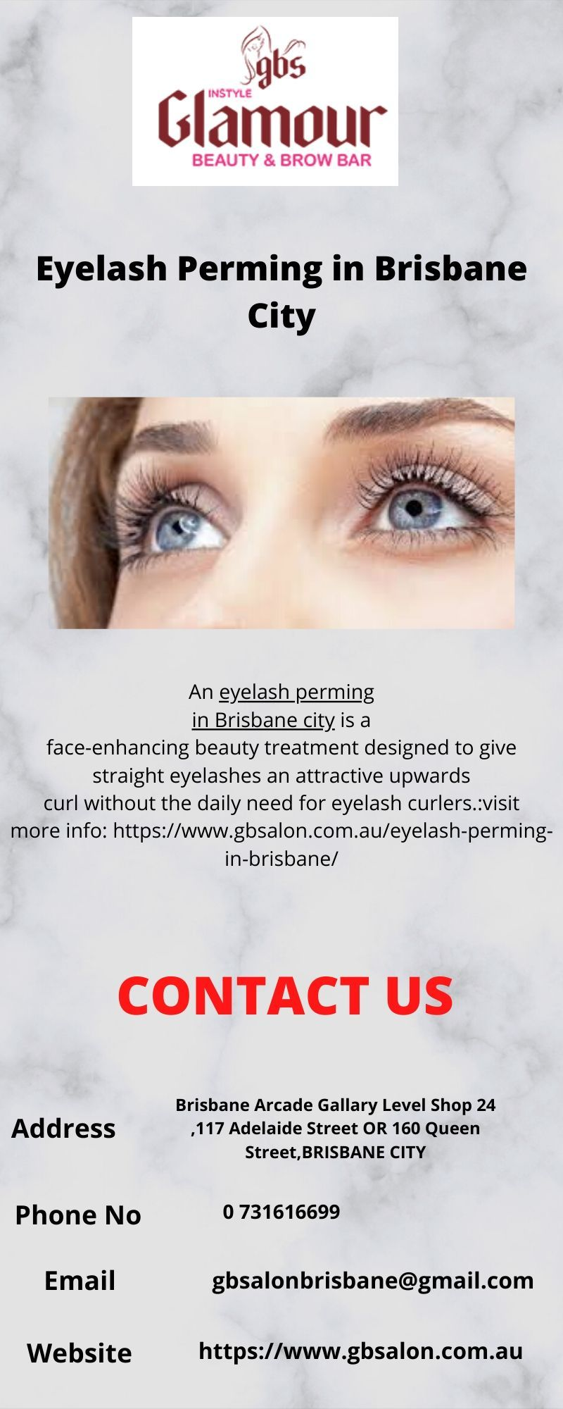 An eyelash perming in brisbane city is a faceenhancing