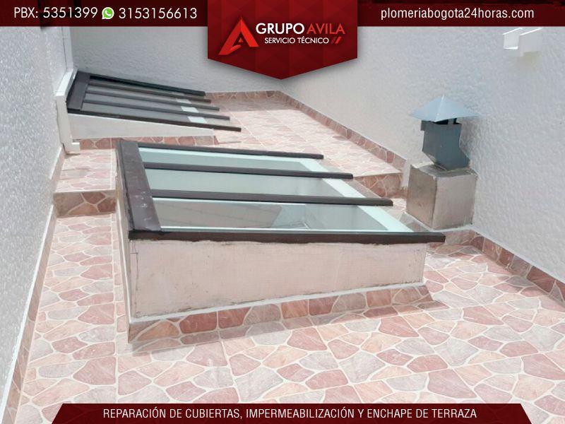 Instalaci n mantenimiento limpieza impermeabilizaci n - Claraboyas para techos ...
