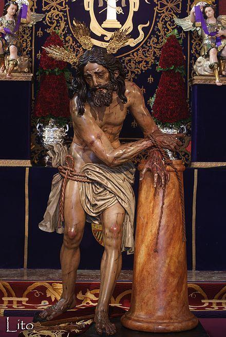 Detalle Del Señor De Las Cigarreras Cigarreras Sevilla Santísimo Cristo