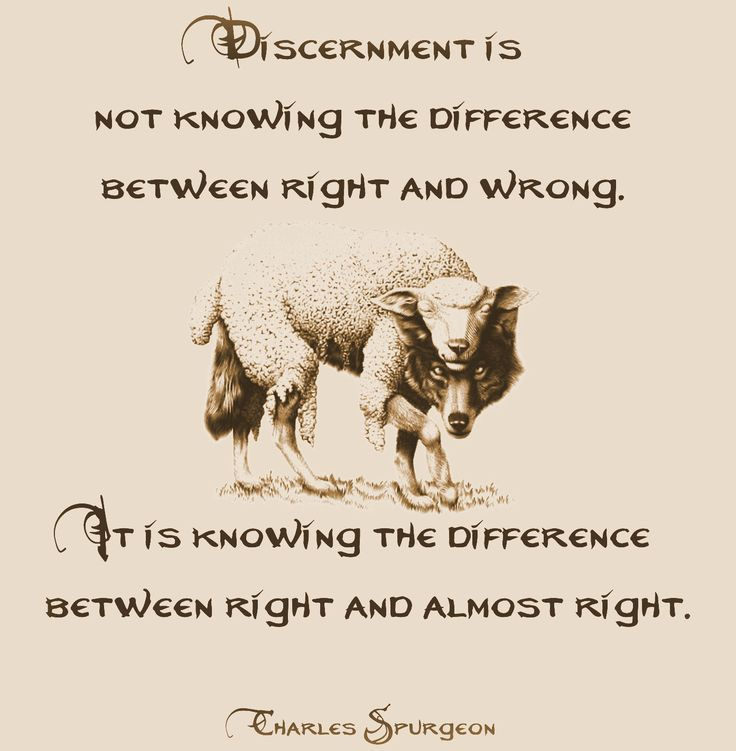 discernment  | Discernment, Charles Spurgeon. I'm pinning here because discernment is ...