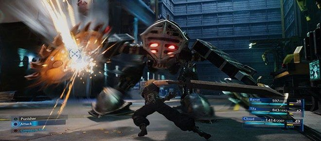 Final Fantasy Vii Remake New Trailer With Cloud And Aerith
