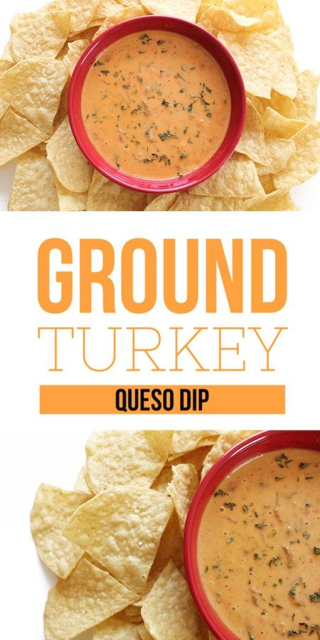 Ground Turkey Queso DIp - Pinch Me Twice