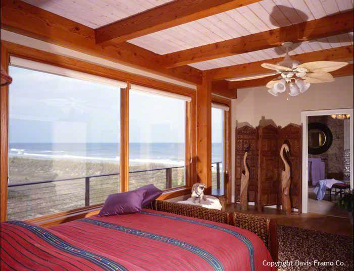 Myrtle Beach coastal timber frame home.