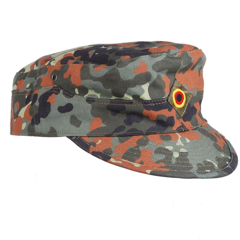 Heerpoint Reproduction German Flecktarn Camouflage Army Field Hat ... 3160de3e2df6