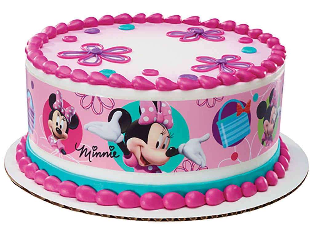 Minnie Mouse Disney Creations Cake Decoration Set