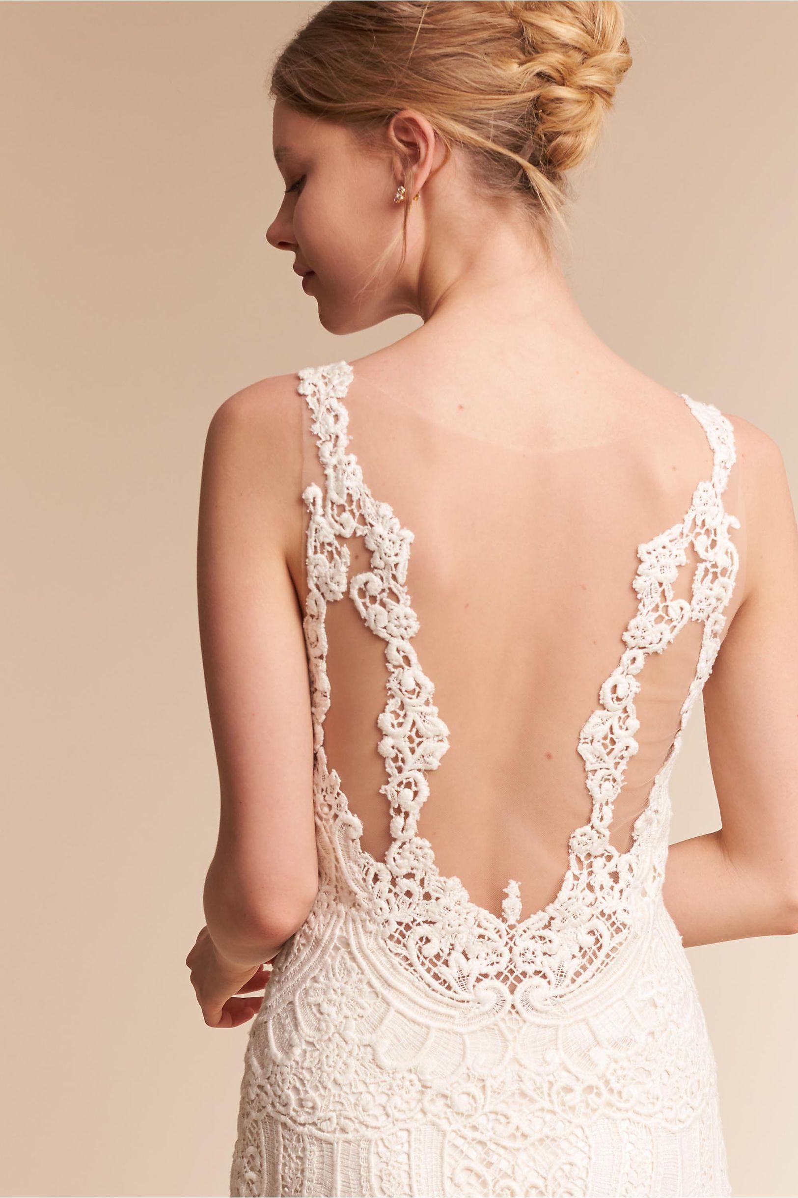 Atherton Gown BHLDN wedding dress Pinterest