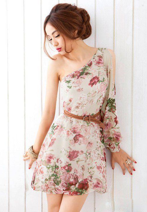 vestidos casuales en chifon - Buscar con Google  620976ddc069