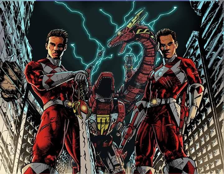 Jason & Rocky  #PowerRangers #PowerRangersMovie #PowerRangersforlife